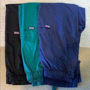 Medium Men's scrub pants bundle.